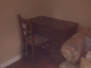 For Sale: Sewing Table with Chair
