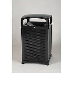 Rubbermaid 9W38 Infinity Waste Container (BLACK)