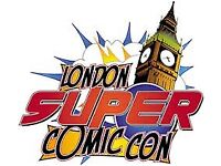 3 Day Early Entry Tickets to London Super Comic Con