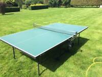 Sponeta outdoor table tennis table