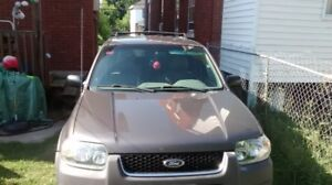 2002 Ford Escape 4dr SUV, Crossover has just 158813 klms
