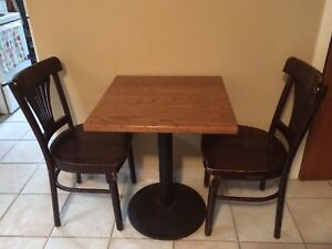 Starbucks Table and Chairs