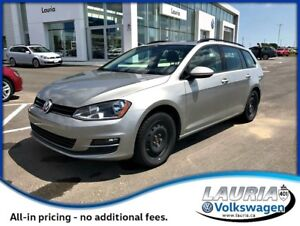 2015 Volkswagen Golf Sportwagon 2.0L TDI Comfortline - Leather /