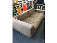 X2 large comfy sofas