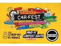 Adult and Child Carfest Tickets - 27 August 2017