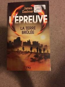 James Dashner terre brûlée