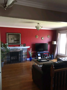 3 Bedroom upstairs apartment at center city. Available Oct. 1st