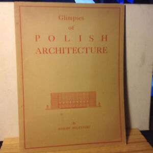 Glimpses of Polish Architecture by Roman Soltynski Scarce Second