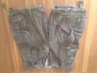 "Abercrombie & Fitch 'Bermuda' Men's Cargo Shorts (33""W) (never worn) JUST REDUCED"