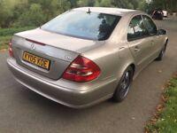 2005 Mercedes E270 diesel SAT NAV DVD full MOT History