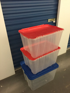 PLASTIC BINS / CONTAINERS
