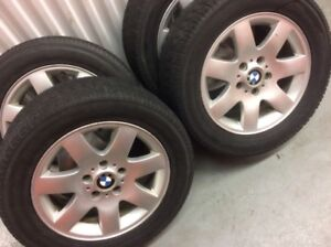 4 Toyo winter tires with BMW Mags:225/55R16