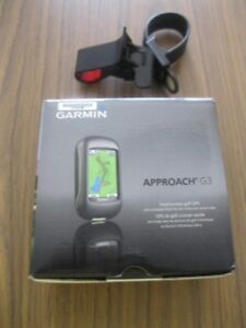 FOR SALE: Garmin Approach G3 golf GPS and a GPS mount for cart
