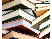 Second Hand Book stall in Weymouth's Radipole Gardens Saturday August 19th 12-5pm.