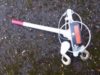 1.5 TON HAND RATCHET WINCH POWER PULLER HOIST CABLE PULLING TOOL