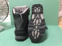 North face all weather water proof boots size 10.5