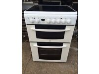 £128.00 Indesit ceramic electric cooker+60cm+3 months warranty for £128.00