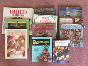 Dried Flower & Nature Craft Book Collection