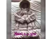 Girls next winter coat 5-6yrs