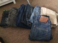 Boys jeans sizes 6-7 7-8