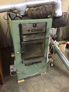 Caddy wood/oil combination furnace