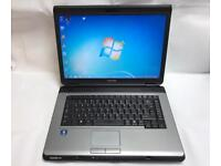 Toshiba Fast Laptop, 160GB, 2GB Ram, Windows 7, Microsoft office, Excellent Condition, Ready to Use