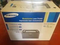 Brand new Samsung Monochrome lazer printer BRand New Toner Cartridge