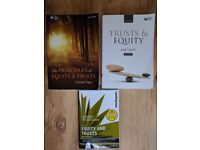 Equity and Trusts Law Books £15 for all 3