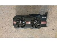 Graphics card Asus Nvidia GeForce Gtx 570 (1280mb memory bus 320 bit)