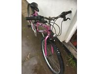 "Girls Bike for sale 18"" frame"