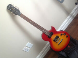 BARELY USED EPIPHONE GUITAR