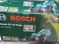 Bosch,Qualcast and Flymo electric lawn mowers