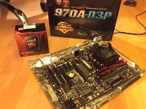 Motherboard,  CPU and memory combo
