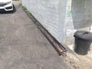 Peut être utilisé pour clôture de chalet