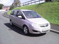 Vauxhall zafira 2010 '1.9 cdti exclusive ,