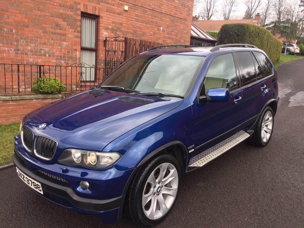 2006 bmw x5 4.8 is exclusive damage repairable 2750 | in dunmurry