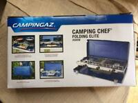 Campingaz Elite Chef gas stove & grill