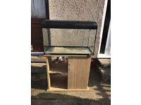 120l Fish Tank - Aqua One EcoStyle with Stand