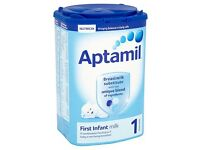 Aptamil First Infant Milk 900g - £59 Per Case (23 Pallets Available)