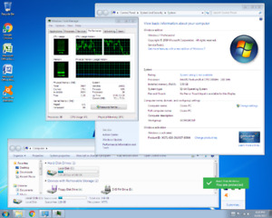 Windows 7 Professional Desktop for Sale with wifi