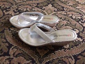 Heavenly Feet Wedge Sandals