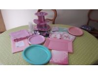 Party Bundle - Pink & Mint Green 1st Birthday