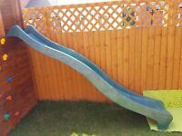 New Green Wavy Slide 10ft