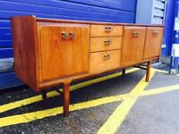 Mid Century Teak Sideboard made by Nathan Furniture