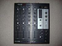 Ecler Nuo 4.0 DJ Mixer + Swan flight case - excellent condition