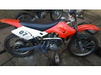 Sky team 200cc running drive and stops