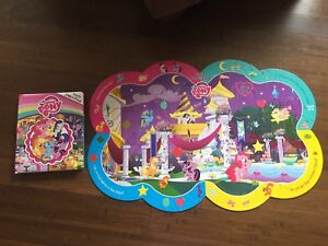 My Little Pony look and find book and floor puzzle