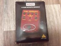 Behringer ADI V Tone Acoustic DI Driver, sansamp clone