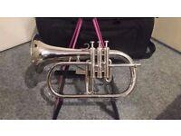 Fleugel Horn & Case For Sale