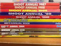 11 SHOOT ANNUALS